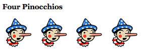 four-pinocchios